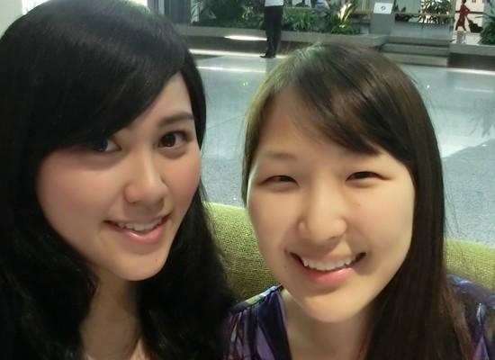 보라 twins for life! :D