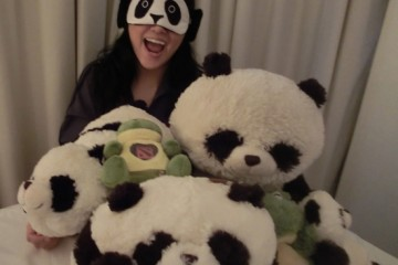 LOL! Plushie production crew! Pandaren and his friends!