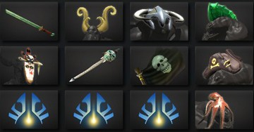 Dota 2 in-game items I gave out over five days!